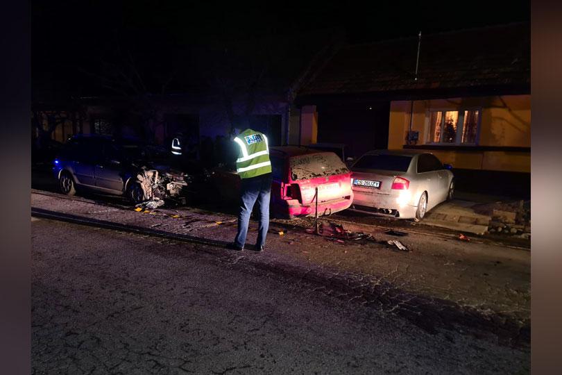 Bărbat de 60 de ani din Moldova Nouă- fost polițist, a provocat un grav accident rutier la Nicolint!