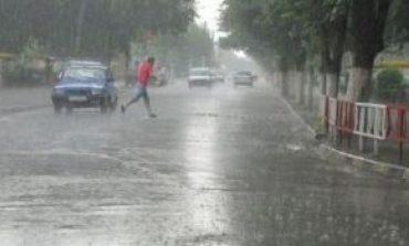 Cod Galben de  precipitatii pentru Caras-Severin !