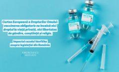Curtea Europeană a Drepturilor Omului: vaccinarea obligatorie nu încalcă nici dreptul la viaţă privată, nici libertatea de gândire, conştiinţă și religie.
