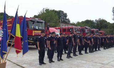 Incendiile continuă să facă ravagii în Grecia, România trimite în Grecia pompieri și autospeciale!