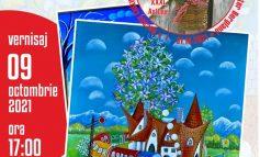 Expoziție de artă plastică a familiei Hlinka (Doina și Gustav) la Casa de Cultură Moldova Nouă!