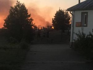 incendiu-moldova-noua-capela-cimitir-1