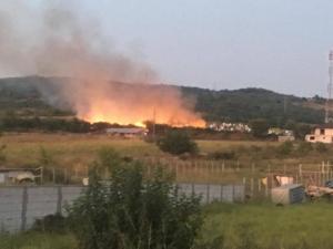 incendiu-moldova-noua-capela-cimitir-2