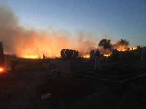 incendiu-moldova-noua-capela-cimitir-3