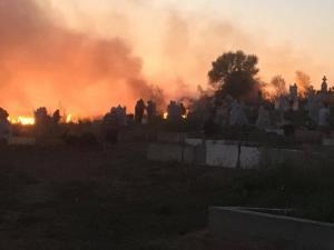 incendiu-moldova-noua-capela-cimitir-4